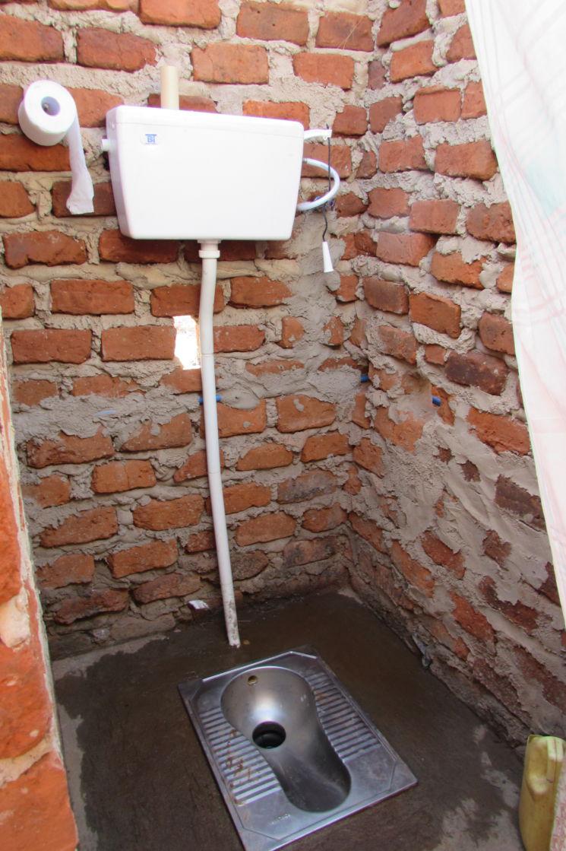 Záchod v Ugandě