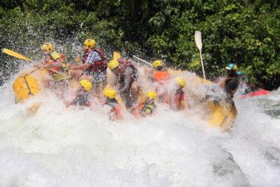Sebevražedný rafting na druhé nejdelší řece světa Nilu – Češka v Ugandě: 9. díl