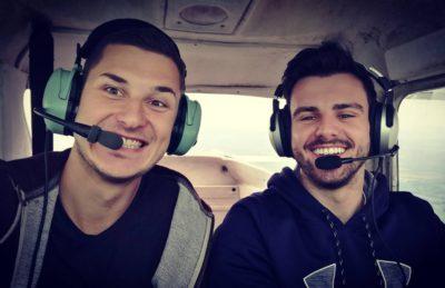 Na vyhlídce v oblacích aneb výlet nad Českem malou Cessnou + FOTOGALERIE
